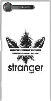 Stranger Things Demogorgon Monster JOKE Adidas Parodie Logo Serie TV Case for Sony Xperia XZ1