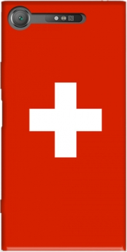 Switzerland Flag Case for Sony Xperia XZ1