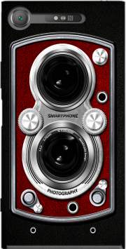 Vintage Camera Red Case for Sony Xperia XZ1