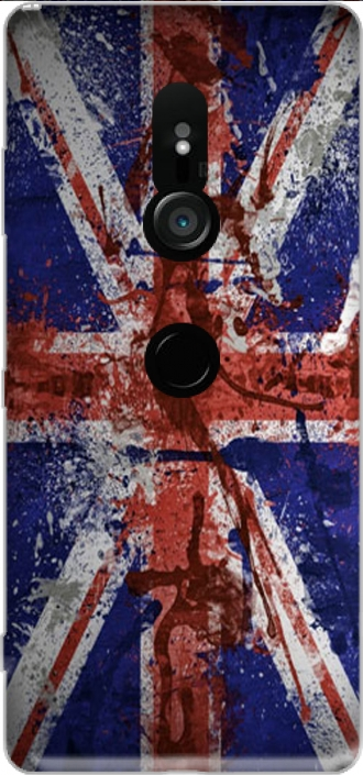 Silicone Sony Xperia XZ3 with pictures flag