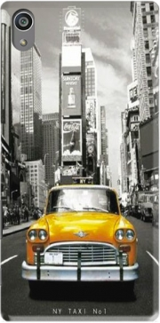 Yellow taxi City of New York City Case for Sony Xperia Z5