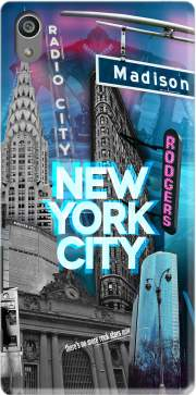 New York City II [blue] Case for Sony Xperia Z5