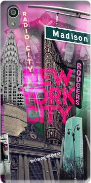 New York City II [pink] Case for Sony Xperia Z5