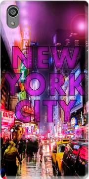 New York City - Broadway Color Case for Sony Xperia Z5