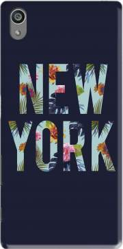 New York Floral Case for Sony Xperia Z5