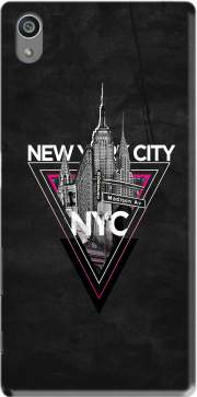 NYC V [pink] Case for Sony Xperia Z5