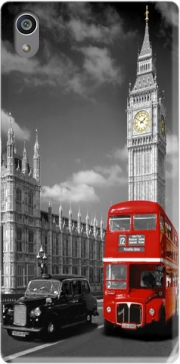 Red bus of London with Big Ben Case for Sony Xperia Z5