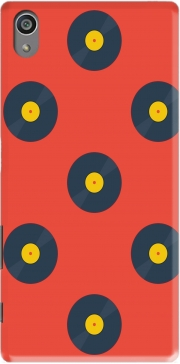 Vynile Music Disco Pattern Sony Xperia Z5 Case