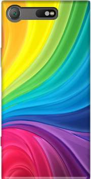 Rainbow Abstract Case for Sony Xperia XZ1 Compact