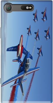 Alpha Jet Dassaut Avion Patrouille de France Case for Sony Xperia XZ1 Compact