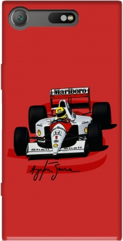 Ayrton Senna Formule 1 King Case for Sony Xperia XZ1 Compact