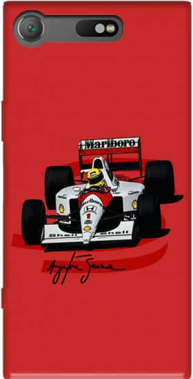 Case Ayrton Senna Formule 1 King for Sony Xperia XZ1 Compact