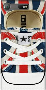 All Star Basket shoes Union Jack London Case for Sony Xperia XZ1 Compact