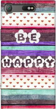 Be Happy Hippie Case for Sony Xperia XZ1 Compact