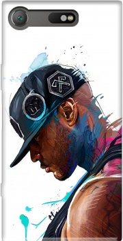 Booba Fan Art Rap Case for Sony Xperia XZ1 Compact