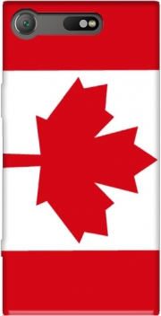 Flag Canada Case for Sony Xperia XZ1 Compact