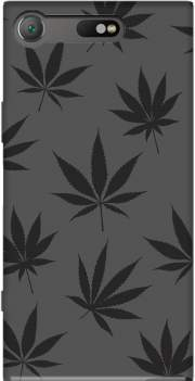 Cannabis Leaf Pattern Case for Sony Xperia XZ1 Compact