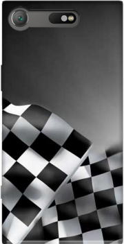 Checkered Flags Case for Sony Xperia XZ1 Compact