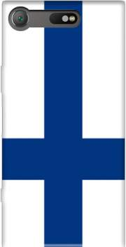 Flag of Finland Case for Sony Xperia XZ1 Compact