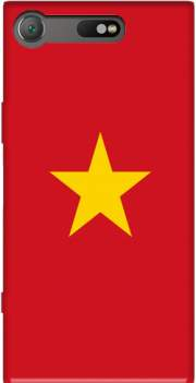 Flag of Vietnam Case for Sony Xperia XZ1 Compact