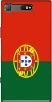 Flag Portugal Case for Sony Xperia XZ1 Compact
