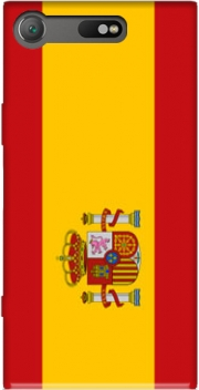 Flag Spain Case for Sony Xperia XZ1 Compact