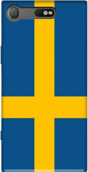 Flag Sweden Case for Sony Xperia XZ1 Compact