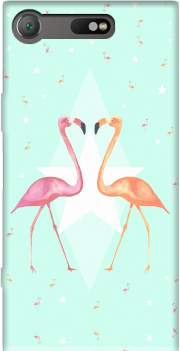 FLAMINGO PARTY Case for Sony Xperia XZ1 Compact