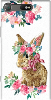 Flower Friends bunny Lace Sony Xperia XZ1 Compact Case