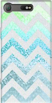 FUNKY CHEVRON BLUE Case for Sony Xperia XZ1 Compact