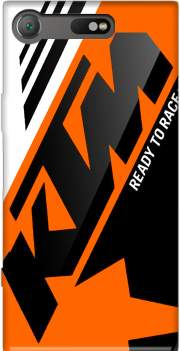 KTM Racing Orange And Black Case for Sony Xperia XZ1 Compact
