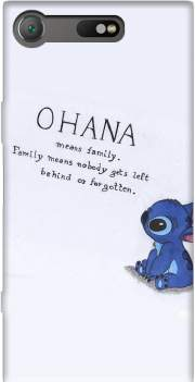 Ohana Means Family Case for Sony Xperia XZ1 Compact