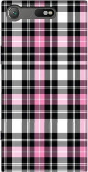Pink Plaid Case for Sony Xperia XZ1 Compact