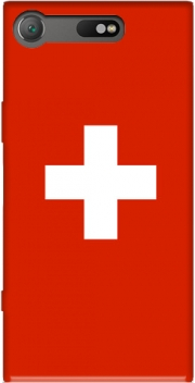 Switzerland Flag Case for Sony Xperia XZ1 Compact