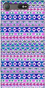 Tribalfest pink and purple aztec Case for Sony Xperia XZ1 Compact