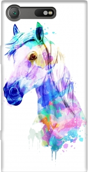 watercolor horse Case for Sony Xperia XZ1 Compact