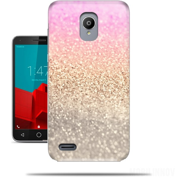 huge discount 62410 aa450 Gatsby Glitter Pink case for Vodafone Smart Prime 6