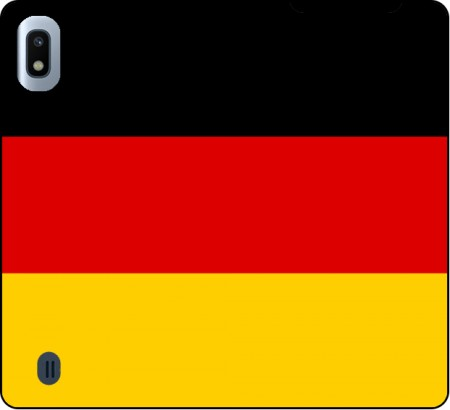 Wallet Case Flag Germany for Samsung Galaxy A10
