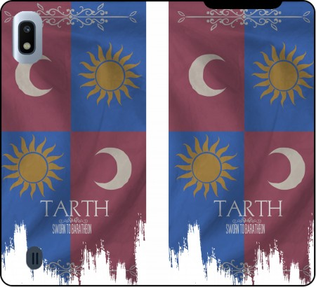 Wallet Case Flag House Tarth for Samsung Galaxy A10