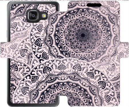 Wallet Case BOHOCHIC GIRL MANDALAS for Samsung Galaxy A5 (2016)