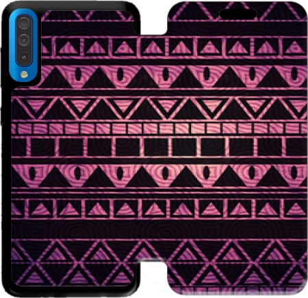 Wallet Case Aztec Pattern II for Samsung Galaxy A50