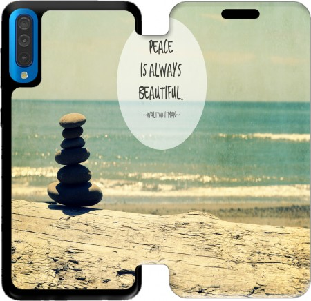 Wallet Case Beautiful Peace for Samsung Galaxy A50