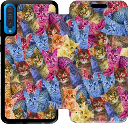 Wallet Case Cats Haribo for Samsung Galaxy A50