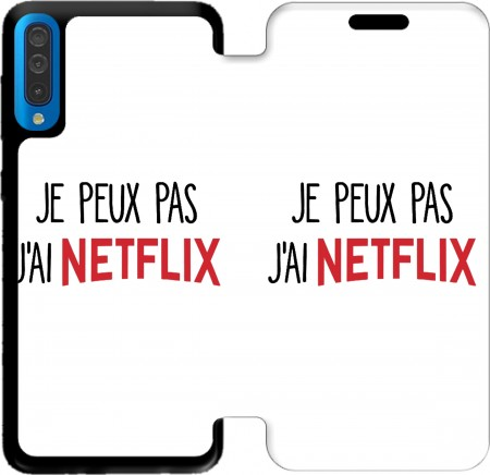 Wallet Case Je peux pas jai Netflix for Samsung Galaxy A50
