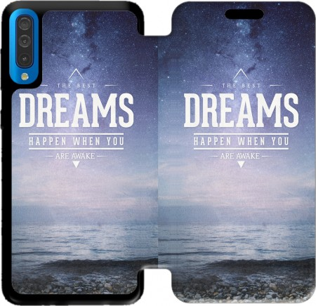 Wallet Case The best DREAMS for Samsung Galaxy A50