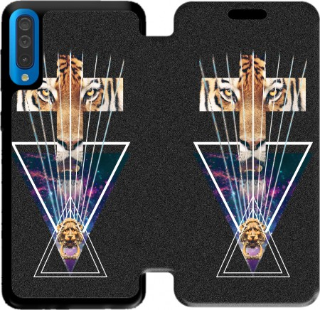 Wallet Case TigerCross for Samsung Galaxy A50
