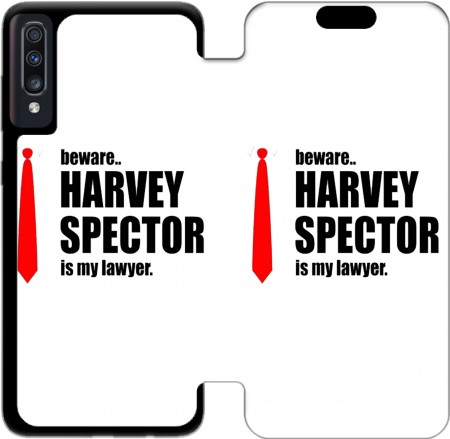 Wallet Case Beware Harvey Spector is my lawyer Suits for Samsung Galaxy A70