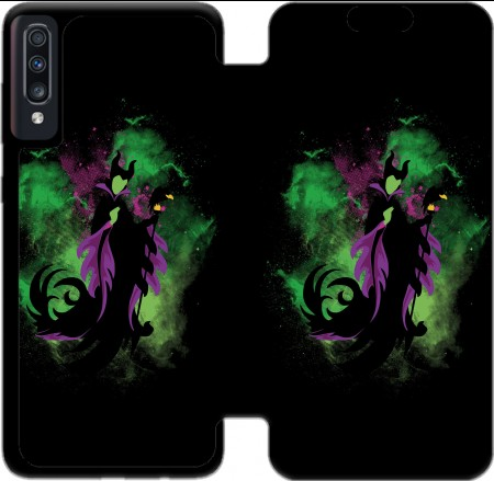 Wallet Case The Malefica for Samsung Galaxy A70
