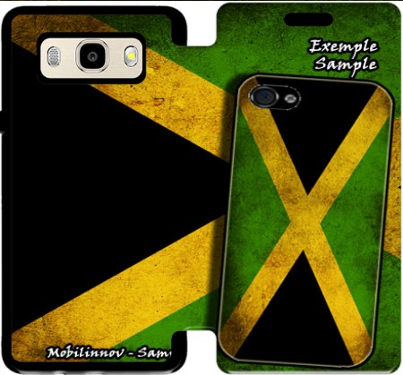Wallet Case Vintage flag Jamaica for Samsung Galaxy J5 (2016)