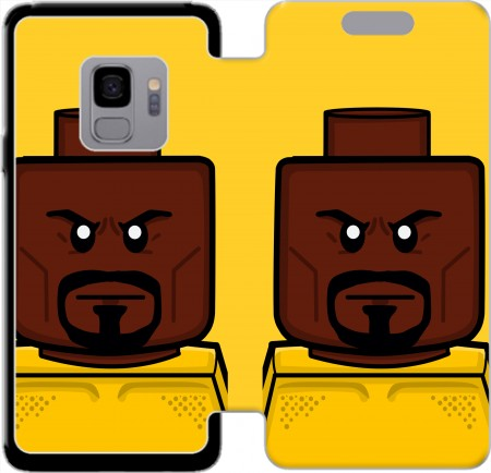 Wallet Case Bricks Defenders Luke Cage for Samsung Galaxy S9